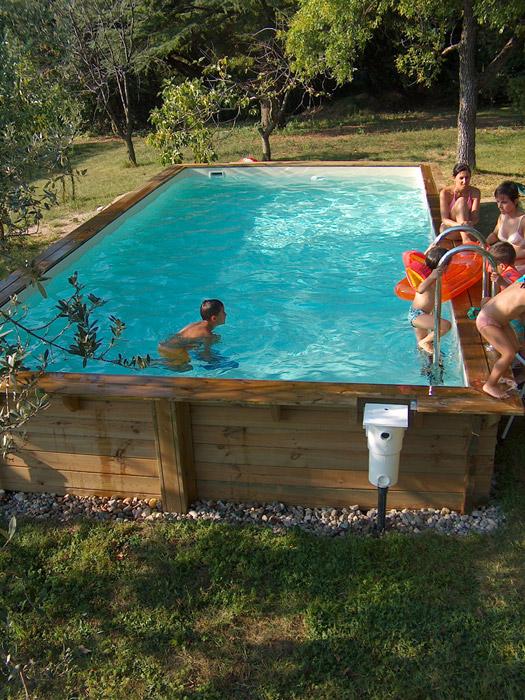 piscine fuori terra cobel legno e piscine