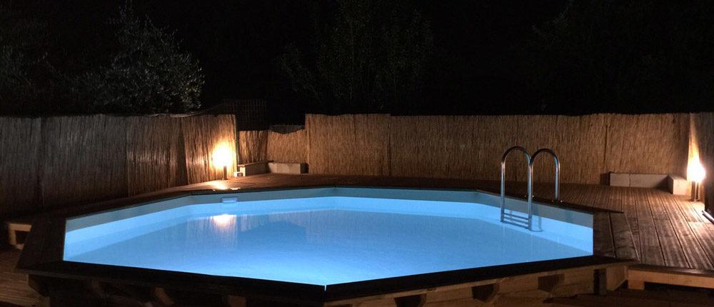 Piscine fuori terra cobel legno e piscine - Piscine fuori terra rivestite in legno ...